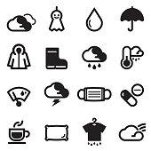 Rainy Season Icons