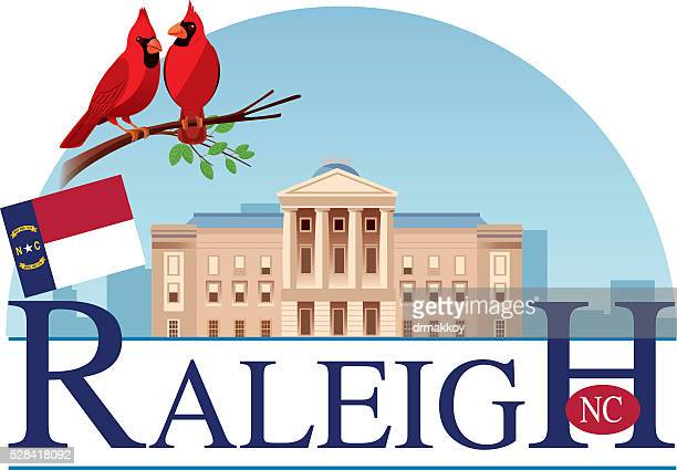 raleigh-capitol - kapitell stock-grafiken, -clipart, -cartoons und -symbole
