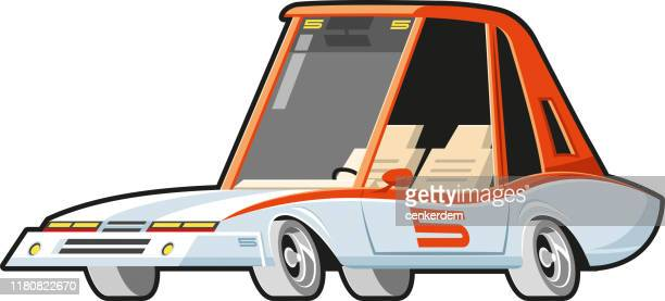 rally car - car ownership stock illustrations, clip art, cartoons, & icons