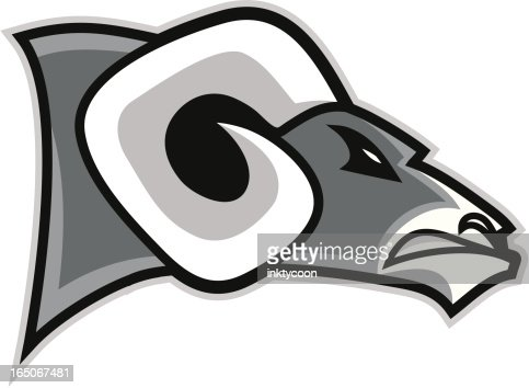 ram head logo vector art | getty images