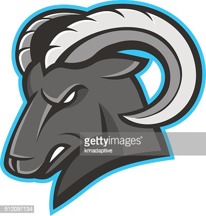 ram mascot logo vector art | thinkstock