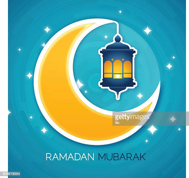 ramadam mubarak - eid ul fitr stock illustrations
