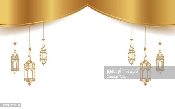 ramadan celebration background - eid ul fitr stock illustrations