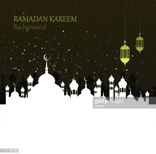 ramadan celebration - mosque stock illustrations