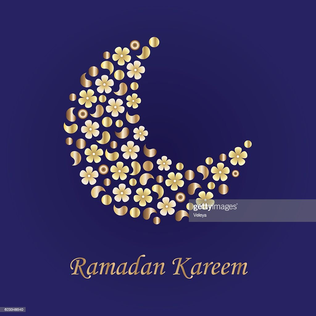Ramadan Greetings Background Vector Art Getty Images
