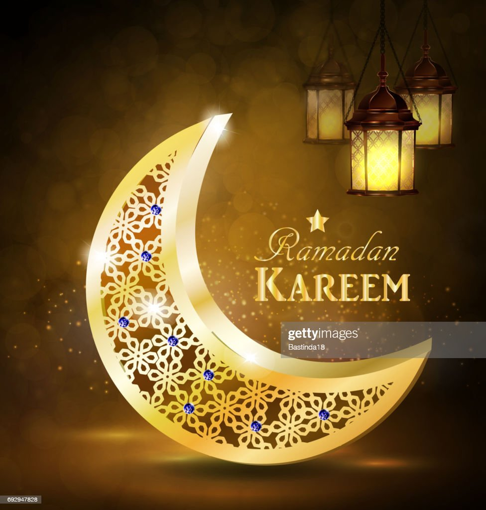 Ramadan Greetings Vector Vector Art Getty Images
