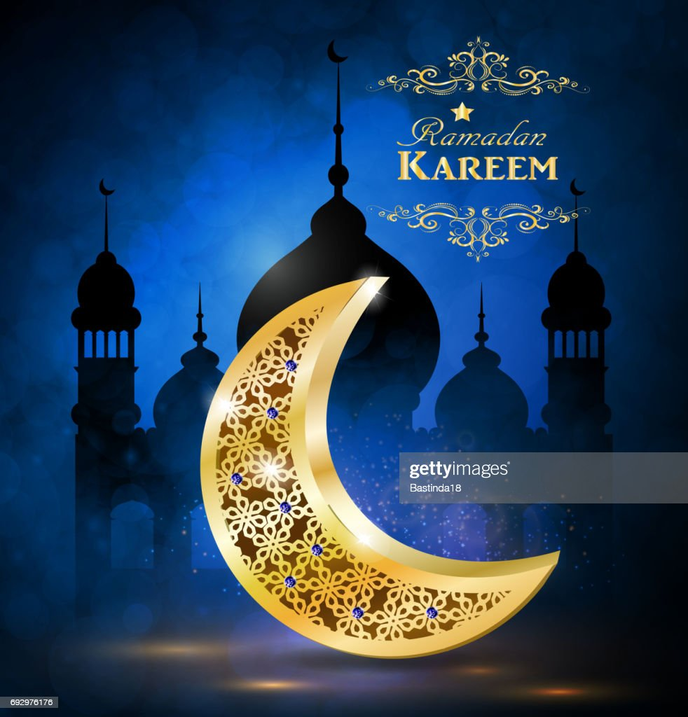Ramadan Greetings Vector Vector Art Getty Images