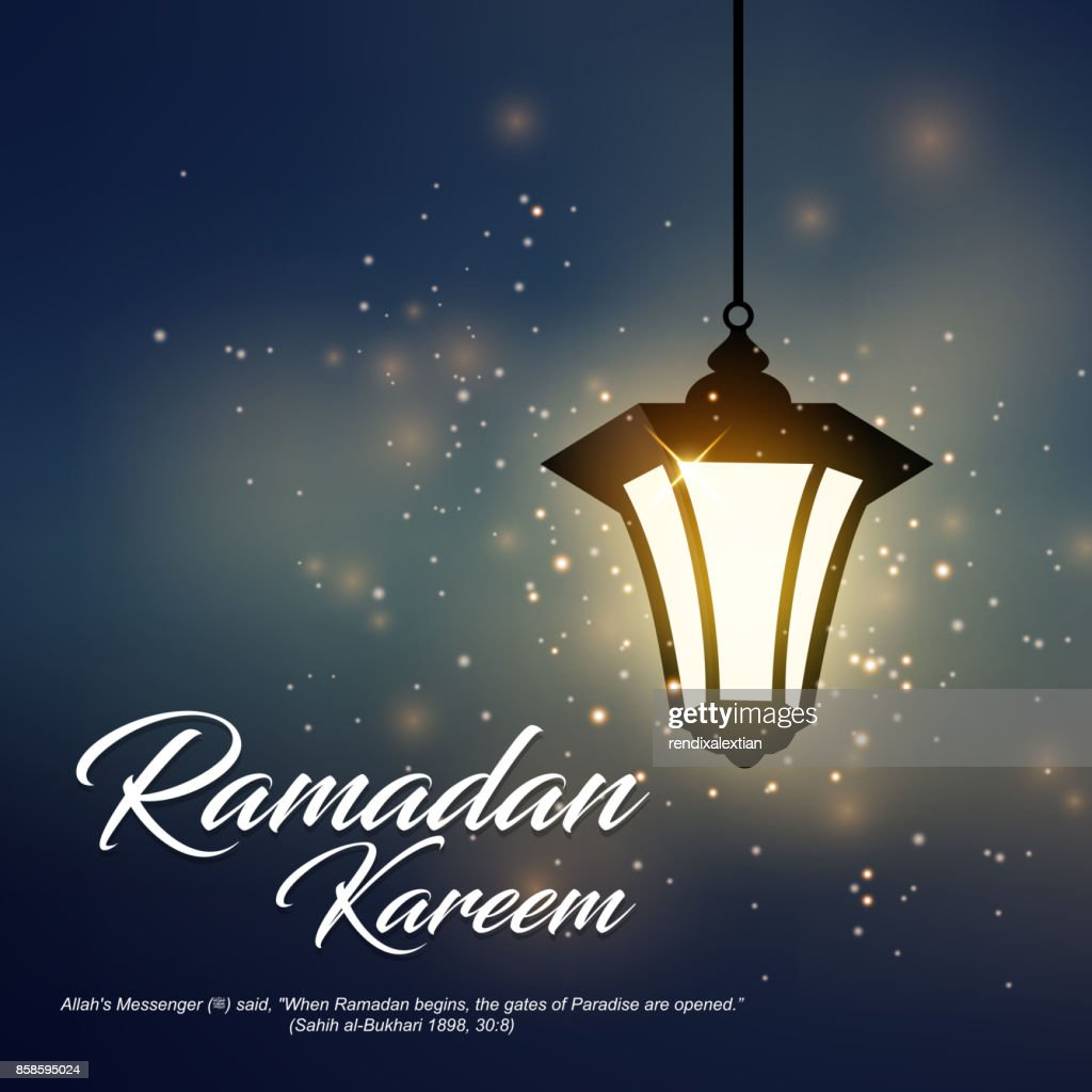 Ramadan Kareem greeting, suitable for islamic religion, greeting card, and other. Vector Illustration