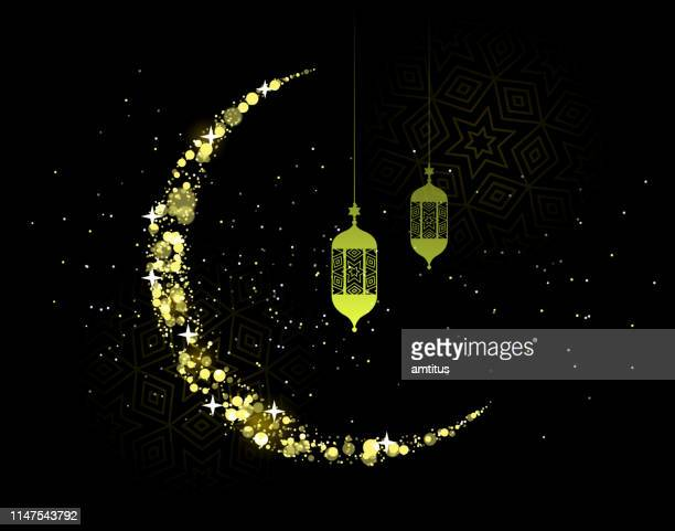 ramadan kareem - tradition stock illustrations