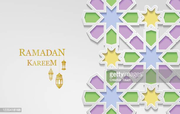 ramadan kareem - eid ul fitr stock illustrations