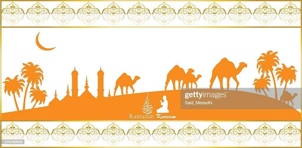 Ramadan Kareem (translation Generous Ramadhan)