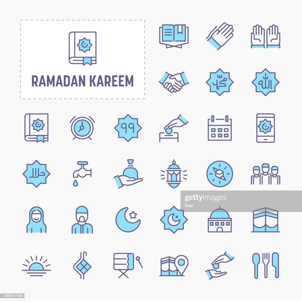 Ramadan Minimal Icon Set