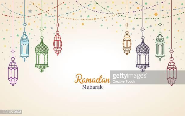 illustrations, cliparts, dessins animés et icônes de ramadan moubarak - bonne fete de ramadan
