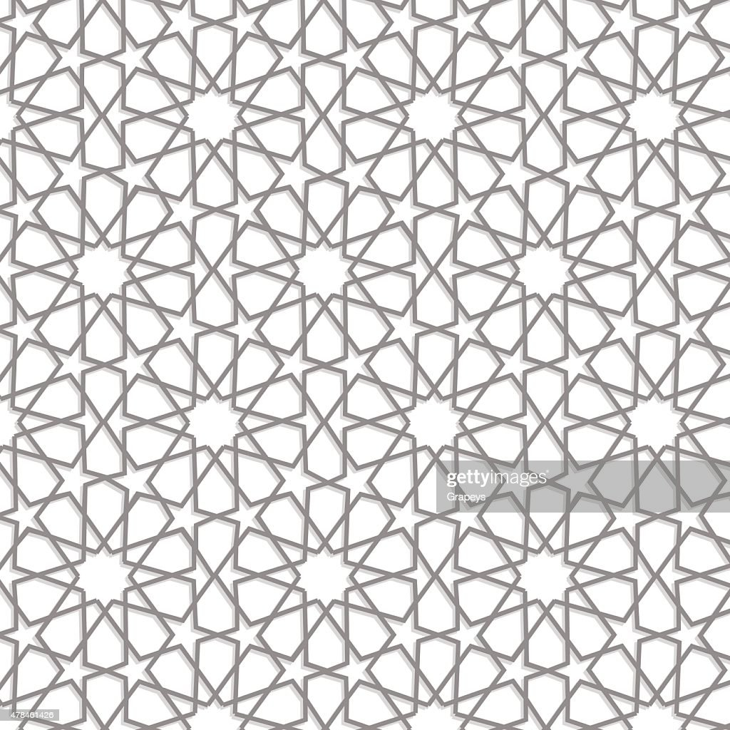 Nice Ramadan Pattern; Vector Islamic ...