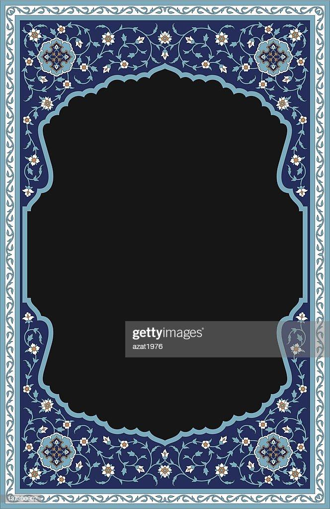 Rashid Floral Frame