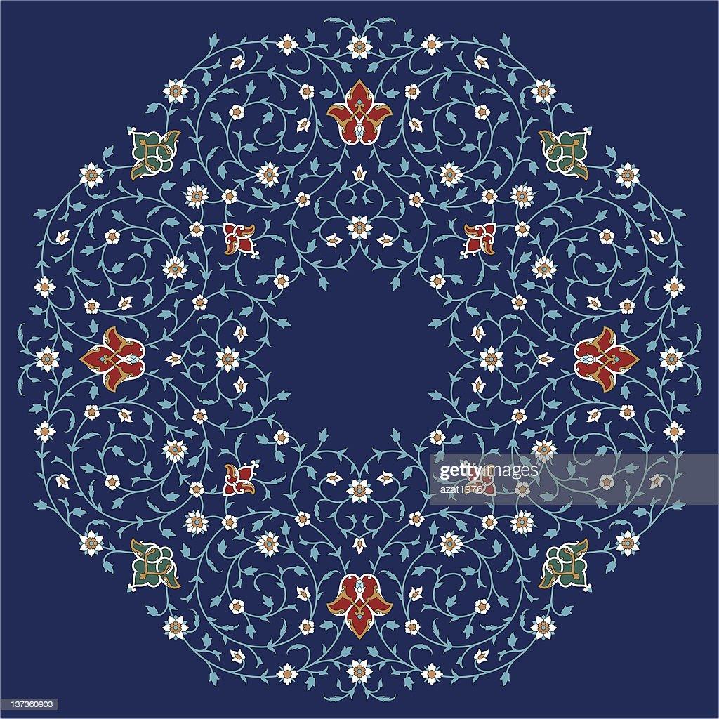 Rashid Floral Ornament