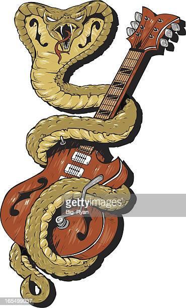 ilustraciones, imágenes clip art, dibujos animados e iconos de stock de raspar - cobra