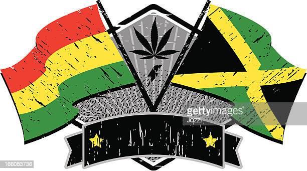 rastafari flags