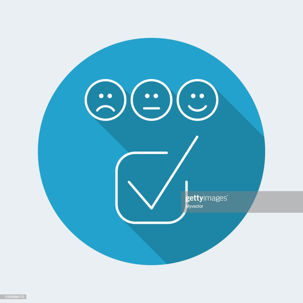 Rating page - Thin icon