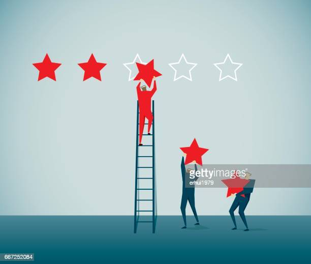 rating - perfection stock illustrations