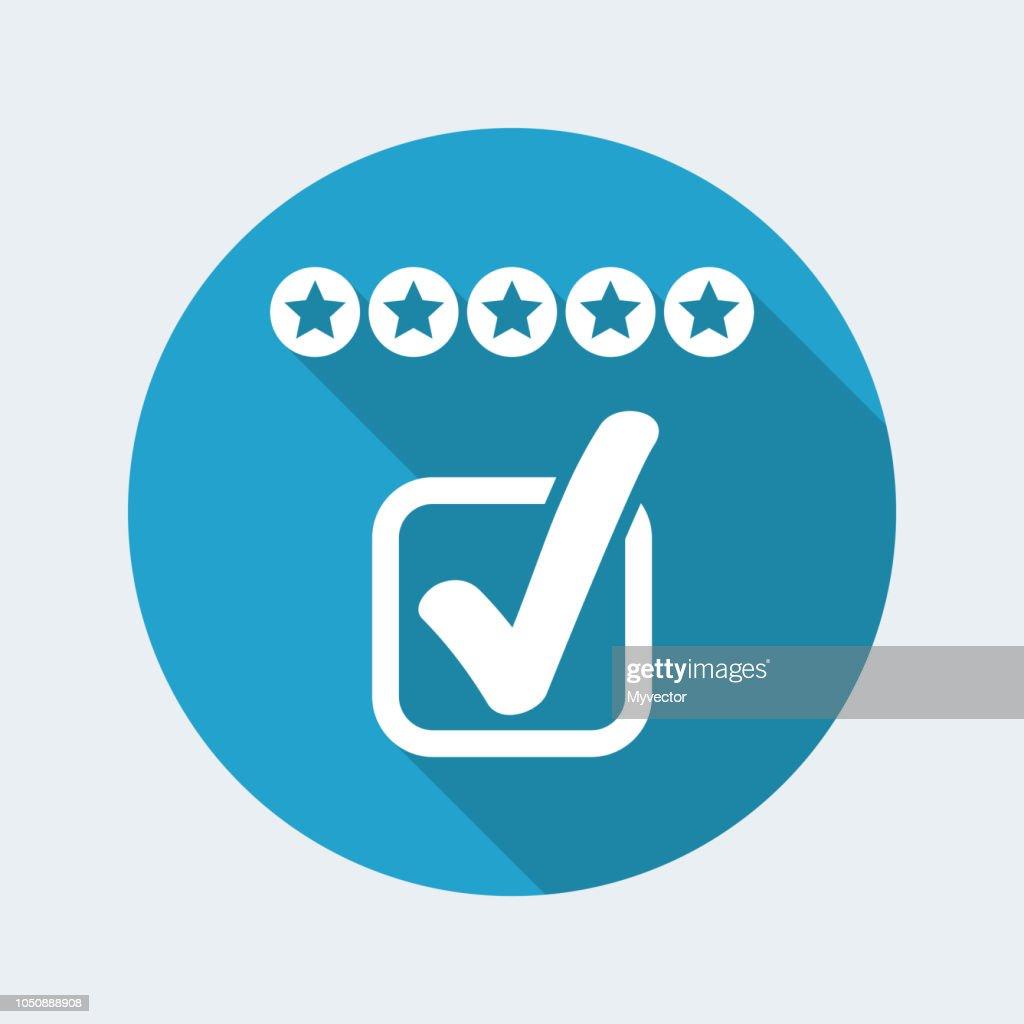 Rating vote icon