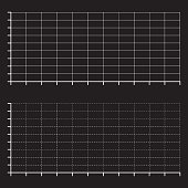 ratings line graph  line chart  graph paper Printable vector illustration