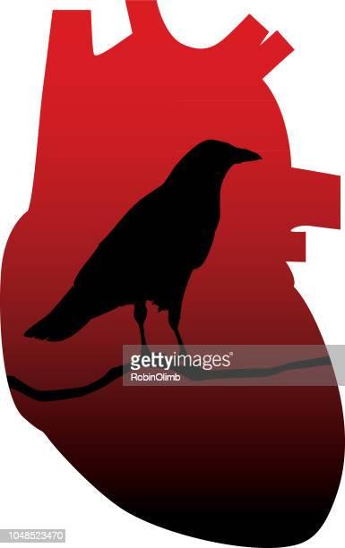 Raven Heart Icon