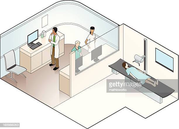 X Ray Machine Illustration