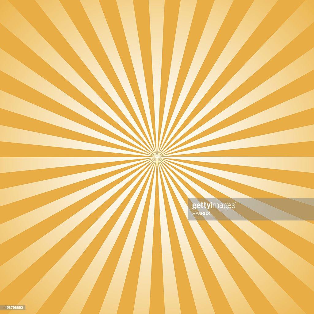 rays illustration Orange