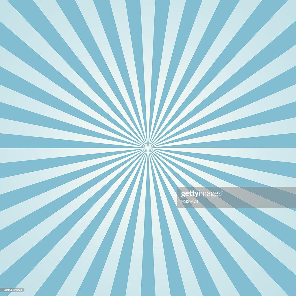 rays illustration sky blue
