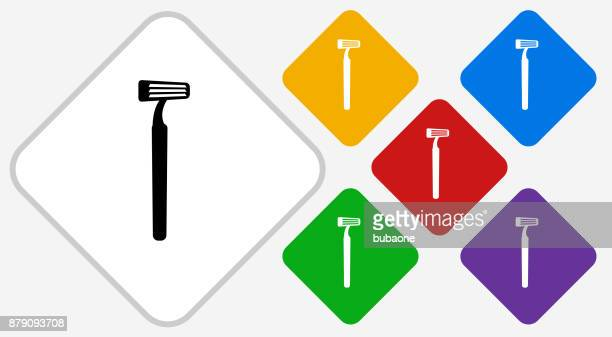 Razor Color Diamond Vector Icon