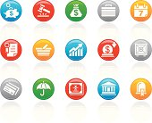 'R-Button' Icon Series | Business & Banking