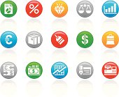 'R-Button' Icon Series | Business & Financial