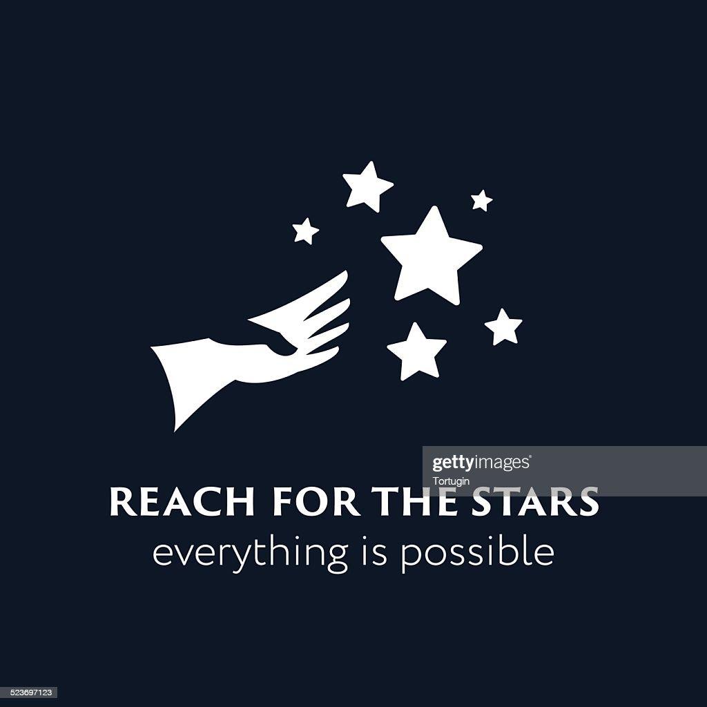 'Reach fo the stars' symbol