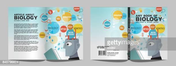 Lesebuch Abdeckung & Artikel design
