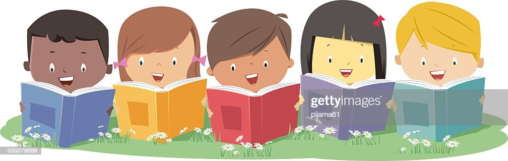 Reading : stock illustration