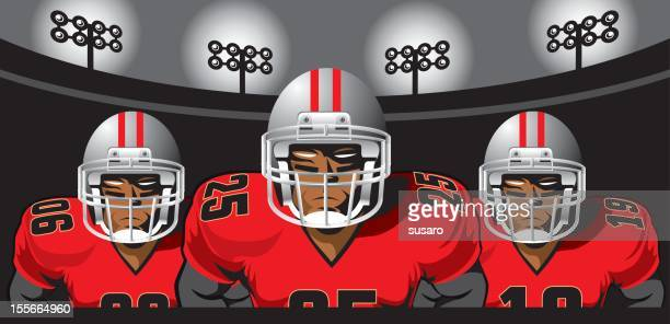 World S Best American Football Team Stock Illustrations