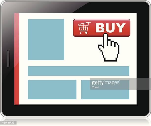 zu kauf - electronic organizer stock-grafiken, -clipart, -cartoons und -symbole