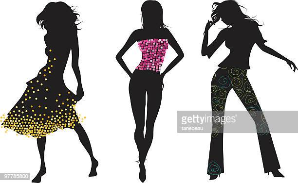 ready to party! - hand on hip stock illustrations, clip art, cartoons, & icons