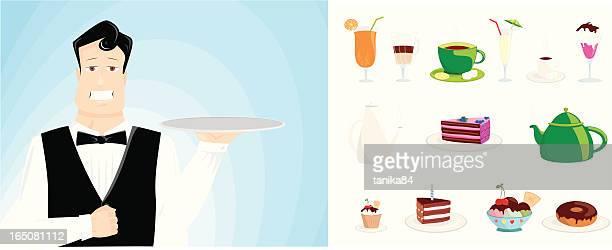 ready to serve - glazed food stock illustrations, clip art, cartoons, & icons