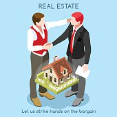 Real Estate 01 People Isometric