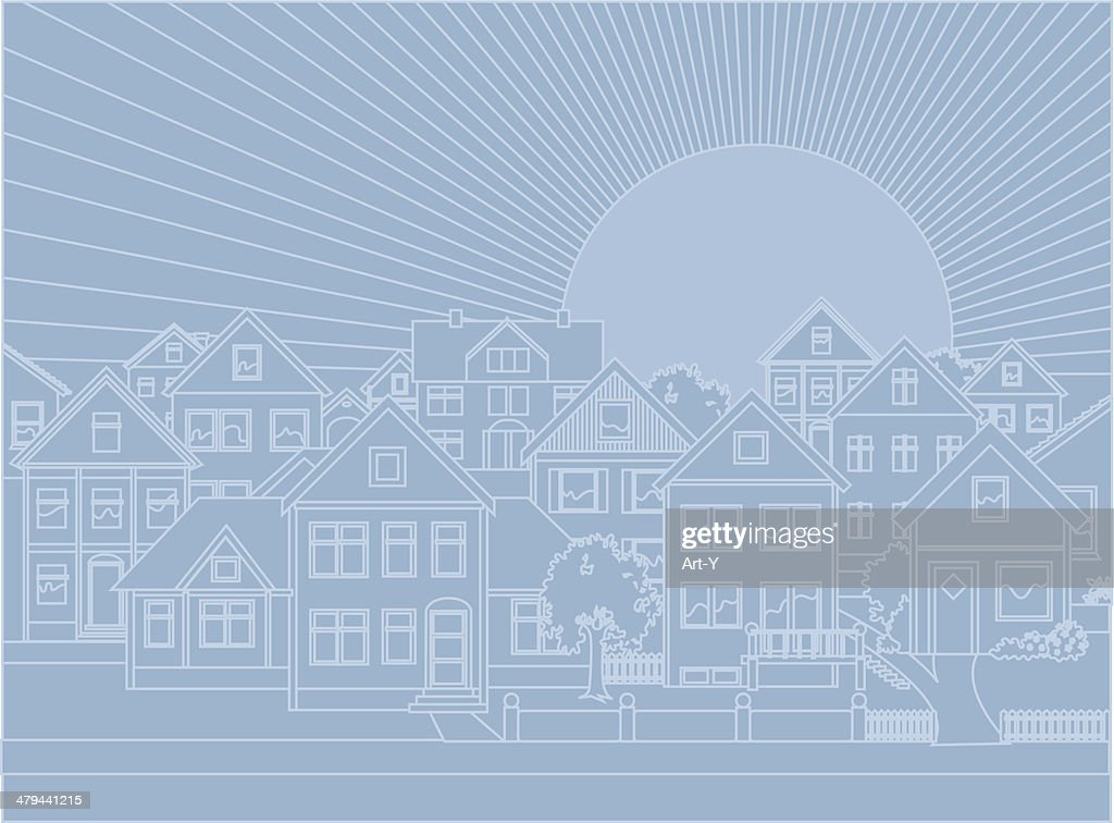 Real estate background : stock illustration