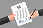 Real estate business document