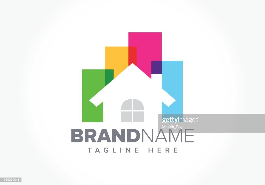 Real Estate Business Symbol illustration