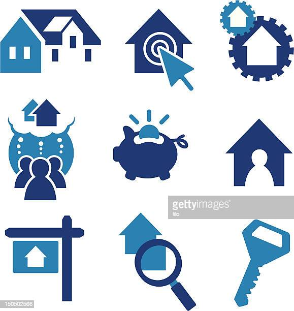 real estate elements - money to burn stock illustrations, clip art, cartoons, & icons