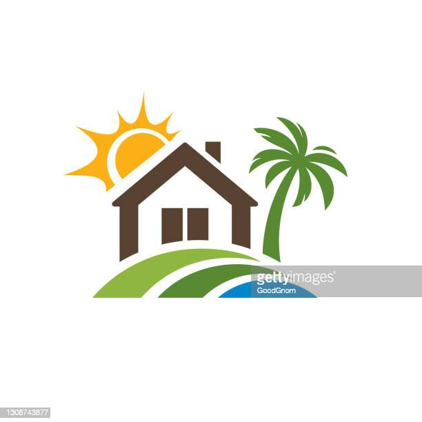 real estate emblem - mortgage stock illustrations