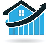 Real Estate House Logo Prices Illustration