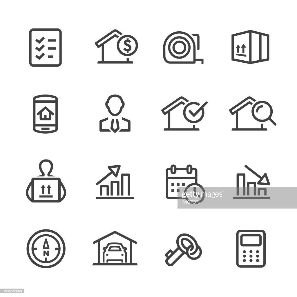 Real Estate Icon - Line Series