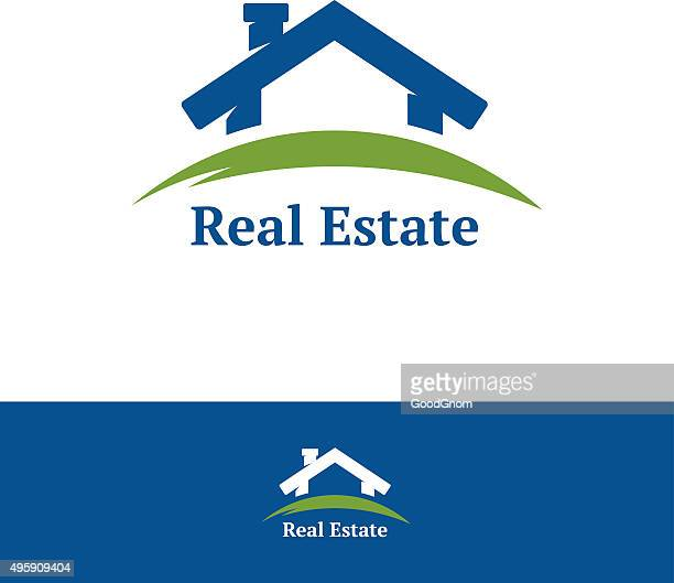 real estate icon - private property stock illustrations