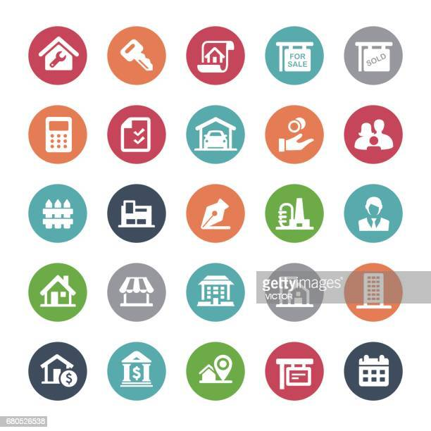 Real Estate Icons - Bijou Series